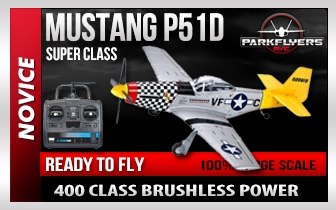 Mustang P-51-D RC Plane